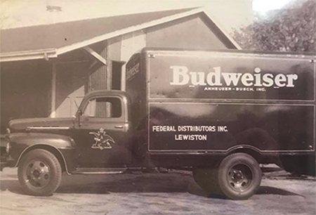 Old Valley Beverage Truck